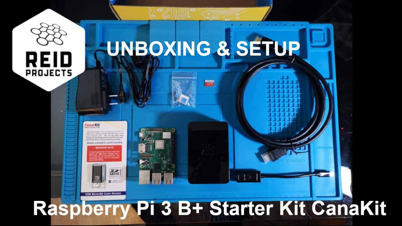 Raspberry Pi 3 B+ Starter Kit Unboxing