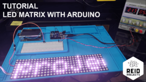 How to control RGB LED matrix with an Arduino