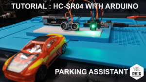 Connect sensor HC-SR04 with the Arduino