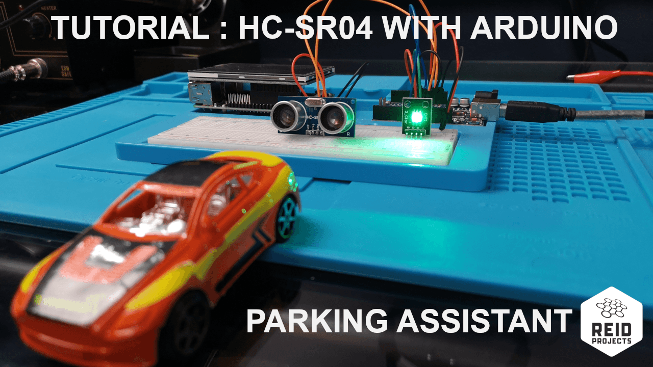How to use distance sensor HC-SR04 with the Arduino