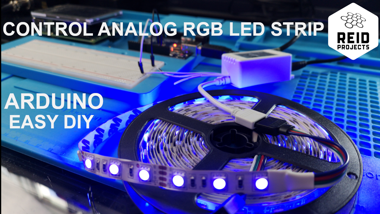 Control RGB LED Strips with an Arduino